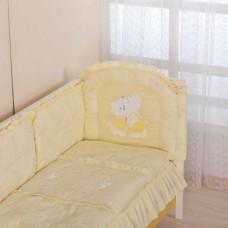 Бортик для кроватки Веселые мишки