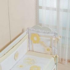 Бортик для кроватки Спящая пчелка