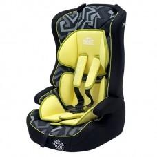 Автолюлька от 9 до 36 кг Желтая