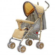 Прогулочная коляска Bonjour, бежевая