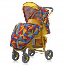 Прогулочная коляска Kira Origami yellow