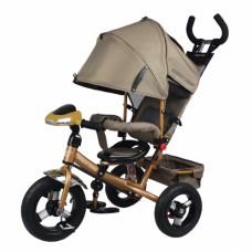 Велосипед трехколесный Smart Trike, коричневый