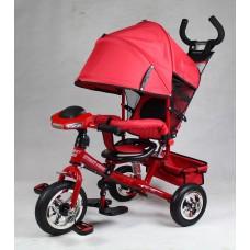 Велосипед трехколесный Smart Trike, красный