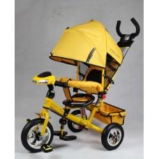 Велосипед трехколесный Smart Trike, желтый